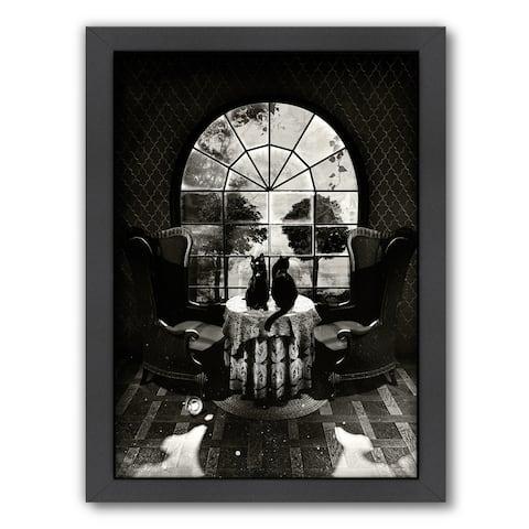 Design Room Skull By Ali Gulec - Framed Print Wall Art