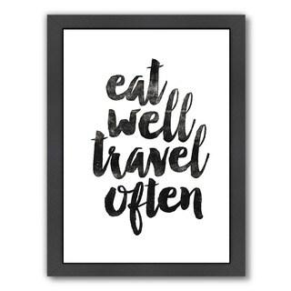 Brett Wilson 'Eat Well Travel Often' Framed Print|https://ak1.ostkcdn.com/images/products/15008794/P21507047.jpg?_ostk_perf_=percv&impolicy=medium