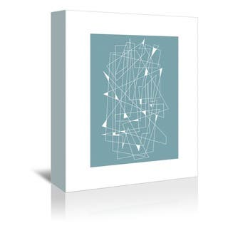 Liz Lyons 'Midcentury Scratch' Gallery-wrapped Canvas Wall Art|https://ak1.ostkcdn.com/images/products/15008826/P21507064.jpg?impolicy=medium
