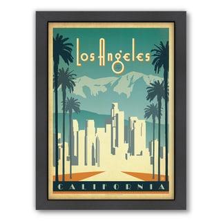 Anderson Design Group 'Los Angeles' Framed Print