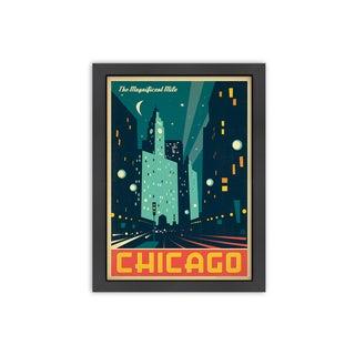 'Chicago: Modern Magnificent Mile' Framed Print