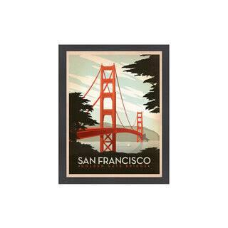 Anderson Design Group 'Golden Gate Bridge' Giclee Print