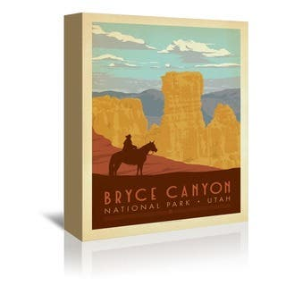 American Flat 'Bryce' Gallyer Wrapped Canvas|https://ak1.ostkcdn.com/images/products/15008855/P21507081.jpg?impolicy=medium