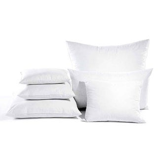 Euro Square 26 x 26-inch Pillow With Removable Zippered Protector (Set of 2)