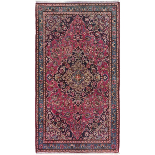 Shop Ecarpetgallery Hand Knotted Persian Kashan Red Wool