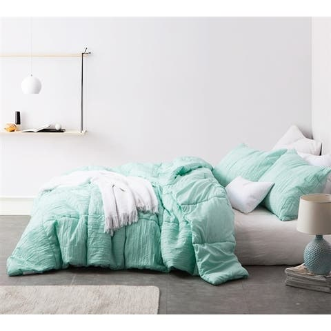 BYB Single Tone Yucca Blended Textured Quilt Set