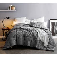 BYB Single Tone Alloy Blended Textured Quilt Set (Shams Not Included)