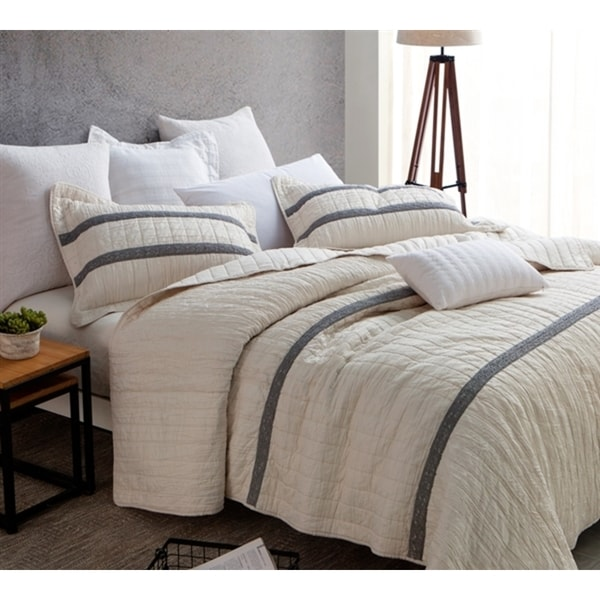 BYB Jet Stream Summer Lace Textured Quilt Set. Opens flyout.