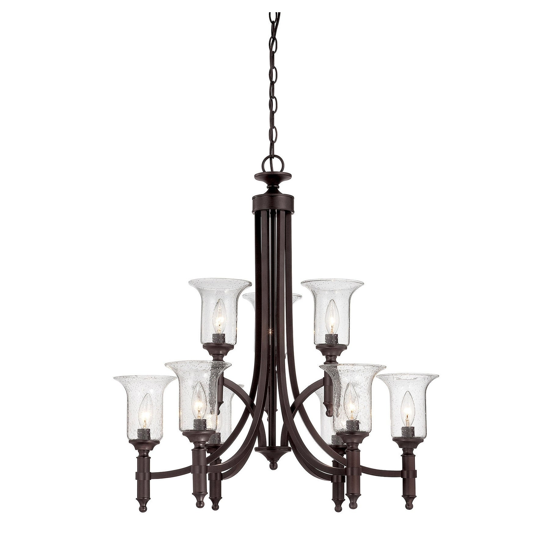 Savoy House Trudy 9-Light Chandelier with Seeded Glass (9...