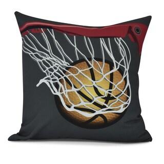 All Net Geometric Print Pillow