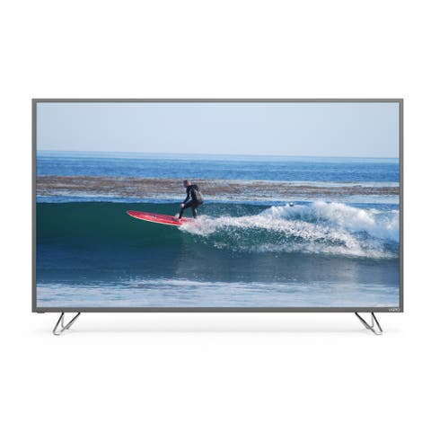 Vizio Refurbished Smartcast 60-inch 4k UHD Smart HDR LED Home Theater Display w/ WiFi-M60-D1 (Refurbished) - Black