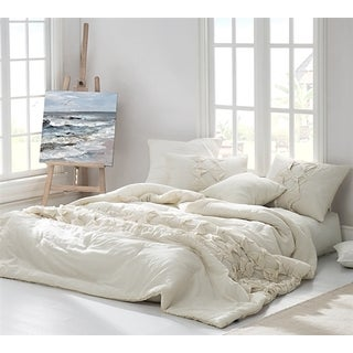 BYB Cadence Jet Stream Textured Quilt Set (Shams Not Included)