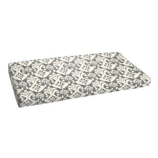 Rainford Grey/ Cream Indoor/ Outdoor Bench Bristol Cushion