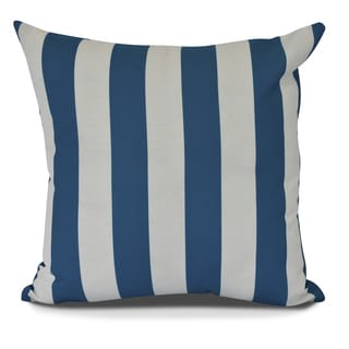 Rugby Stripe Stripe Print Pillow