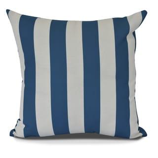 Rugby Stripe Stripe Print Pillow