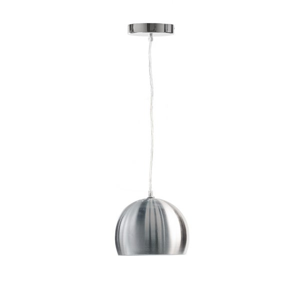Single Bowl Chrome Pendant Lamp
