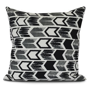 Arrow Geometric Print Pillow