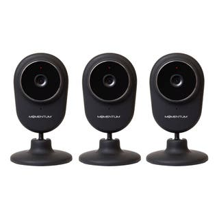 MOMENTUM REFURBISHED HD WIFI VIDEO/AUDIO MONITORING CAMERA-3 PACK|https://ak1.ostkcdn.com/images/products/15009641/P21507662.jpg?impolicy=medium