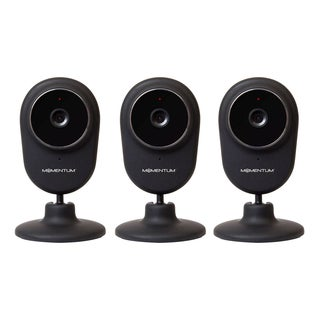 MOMENTUM REFURBISHED HD WIFI VIDEO/AUDIO MONITORING CAMERA-3 PACK