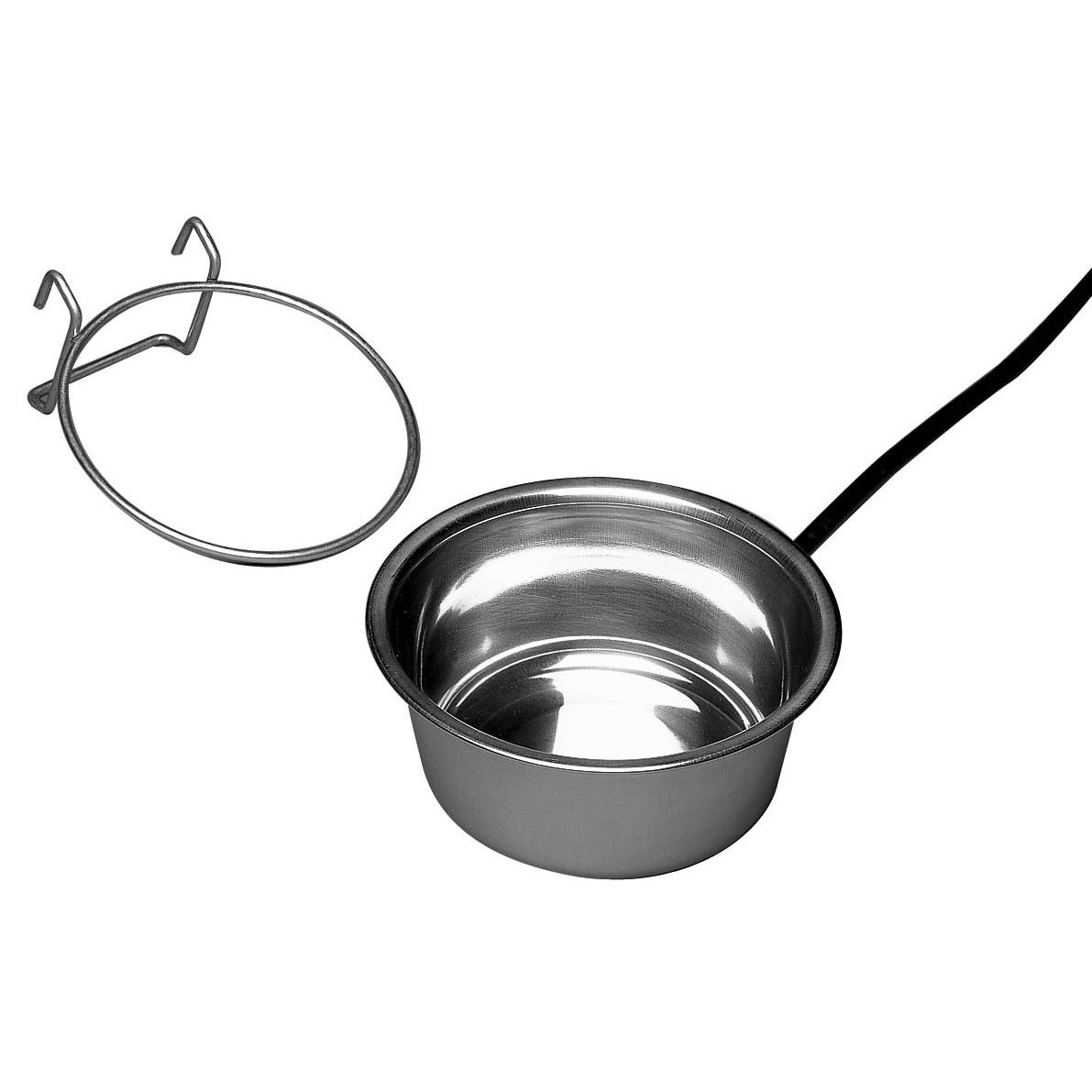 Allied Precision Heated Stainless Steel Small Pet Bowl (S...