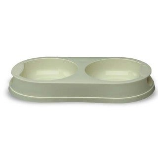 Pet Dish Double Diner