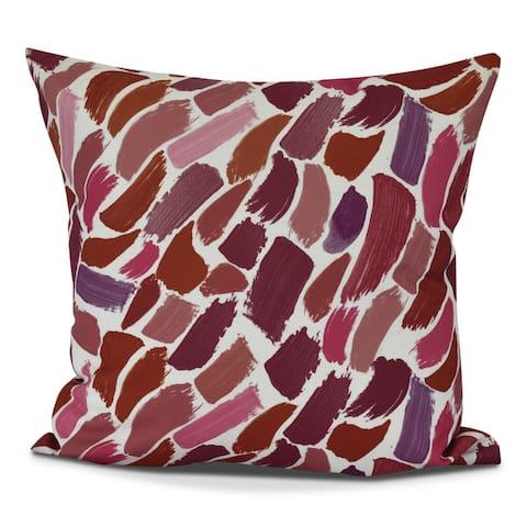 Wenstry Geometric Print Pillow