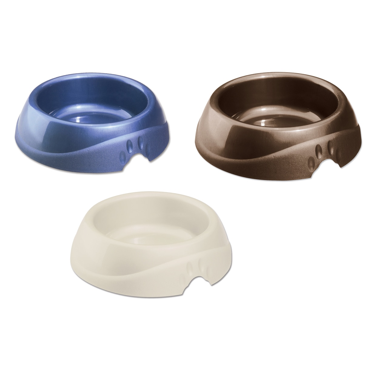 Petmate Contempoary Microban Medium Lightweight Pet Dish ...