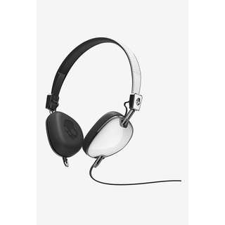 Skullcandy Navigator On-Ear Headphones in White Mic 3