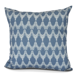 Peace 2 Geometric Print Pillow
