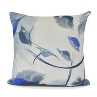 Windy Floral Print Pillow