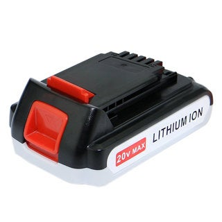 20V 1500mAh Rechargeable Li-ion Battery for Black & Decker LBXR20 LB20 LBX20 LCS20 LCS1620