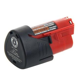 MILCG-12V 10.8V-12V 1500mAh Rechargeable Red and Black Lithium Ion Battery for Black & Decker
