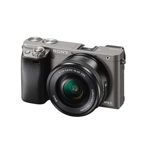 Sony Alpha a6000 24.3MP Mirrorless Digital Camera with 16-50mm Lens (Graphite)