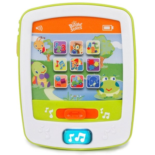 Bright Starts Lights and Sounds Fun Pad Fabric/Plastic Musical Toy