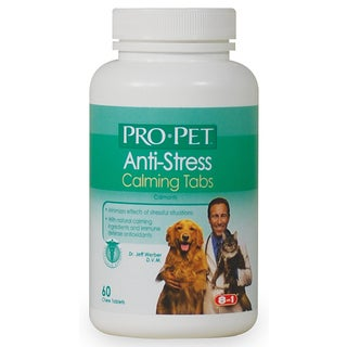 Pro-Sense Chewable Anti-Stress Calming Dog Tablets 60 Count