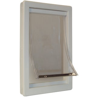 Ideal Pet Products PPDXL 12-1/2 X 18-9/16 XL Thermoplastic Pet Door