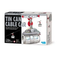4M Tin Can Cable Car - White