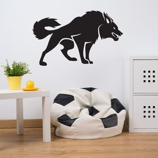 Style and Apply Fierce Dog Wall Decal
