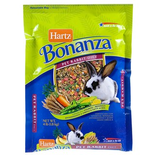 Hartz 4 Lb Nutrition Bonanza Rabbit Gourmet Diet