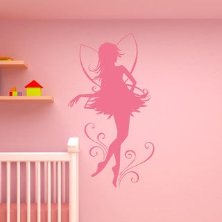 Link to Style and Apply Fairy Dancer Wall Decal Similar Items in Vinyl Wall Art