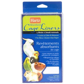 Hartz Living Absorbent Cage Liners For Birds & Small Animals