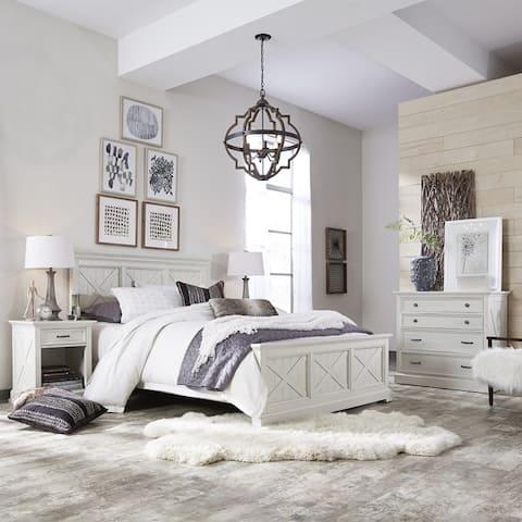 The Gray Barn Riverbone 3-piece Queen Bed Set with Nightstand and Chest