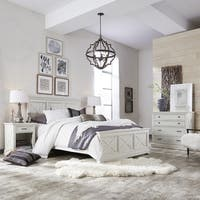 Havenside Home Port Lavaca X-detail Queen Bed, Nightstand, and Chest