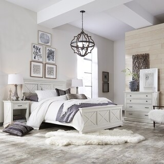 Seaside Lodge Queen Bed, Night Stand, and Chest