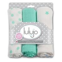 Lulujo Dreamland Mini Muslin Cloth (3 Pack)