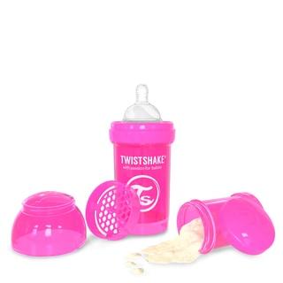 Twistshake Pink 6-ounce Anti-Colic Bottle