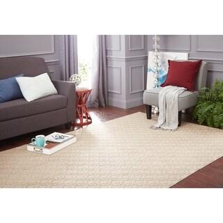 Mohawk Home Essential Spaces Filigree Area Rug (6' x 9') - 6' x 9'