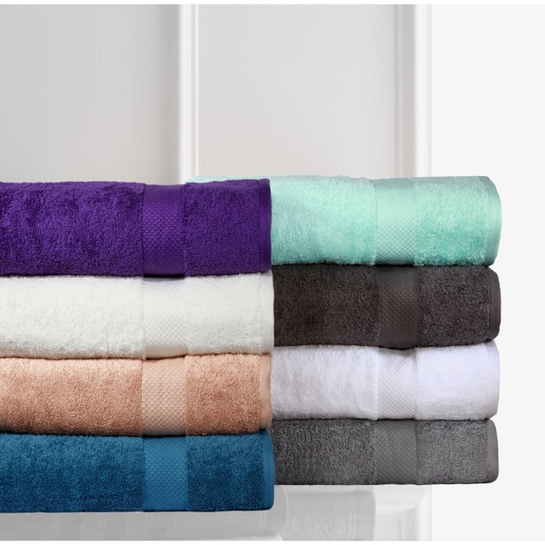 100-percent Low Twist Cotton Oversized Bath Sheet (Set of 2)