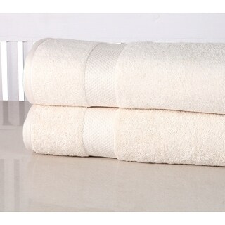 100-percent Low Twist Cotton Oversized Bath Sheet (Set of 2)