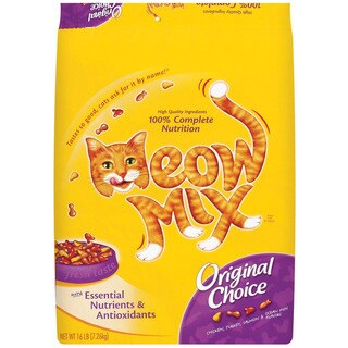 Meow Mix 16 Lb Original Meow Mix Cat Food